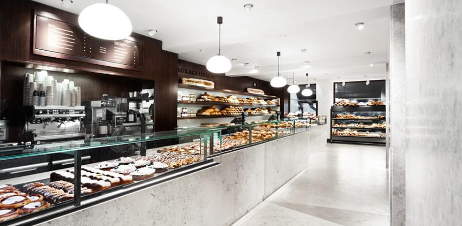 Lagkagehuset Bakery par SPACE Copenhagen (Copenhague, Danemark)
