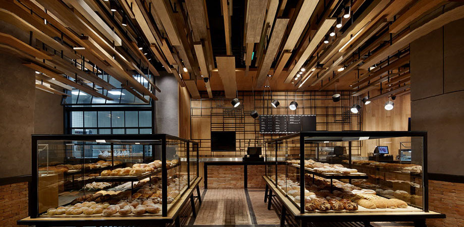 With Wheat Bakery par Golucci International Design (Beijing, Chine)