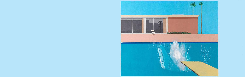 L'expo rafraîchissante de l'été: Beaubourg plonge pour David Hockney