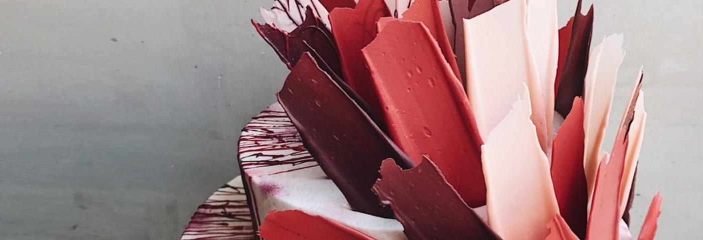 Des gâteaux comme des tableaux d'art abstrait