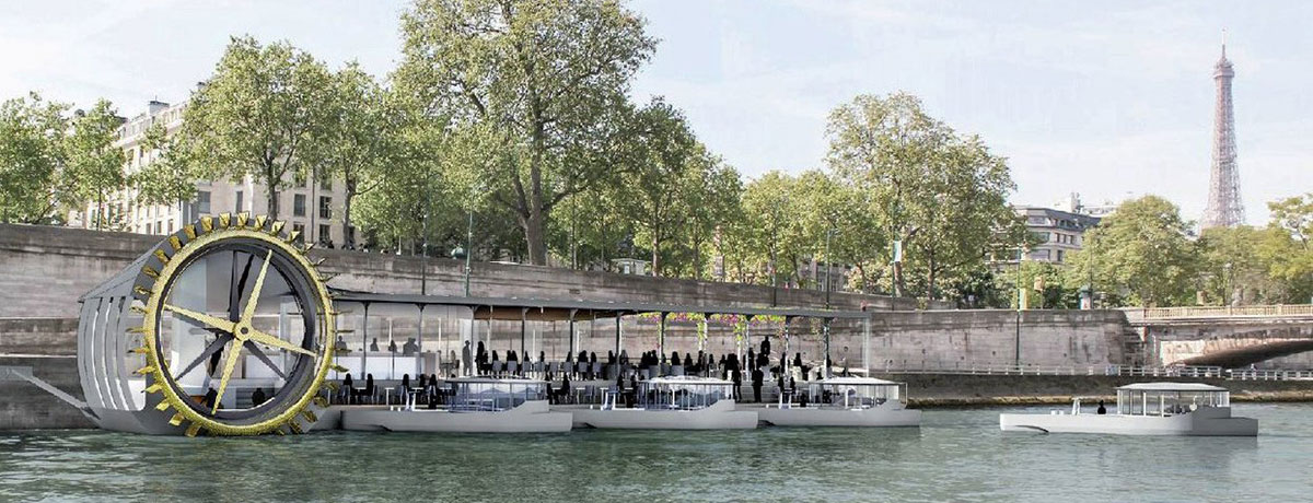 A floating bakery will soon sail on the Seine river