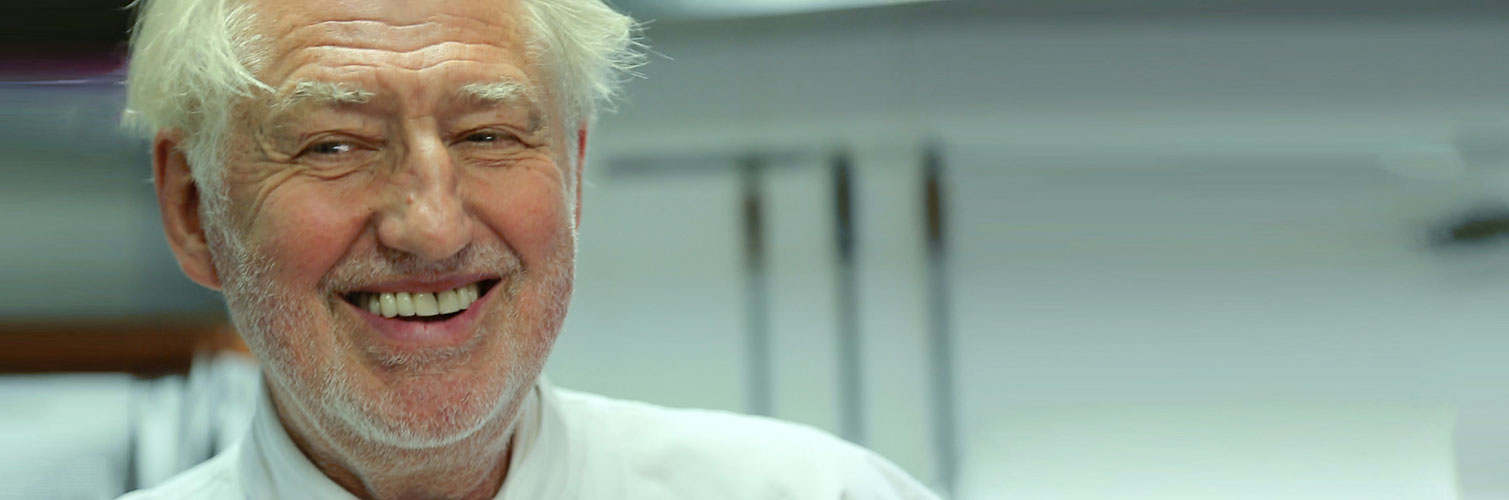 Pierre Gagnaire, a French chef with frankness