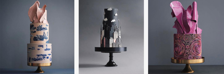 Designer et architecte : ils imaginent des gâteaux spectaculaires