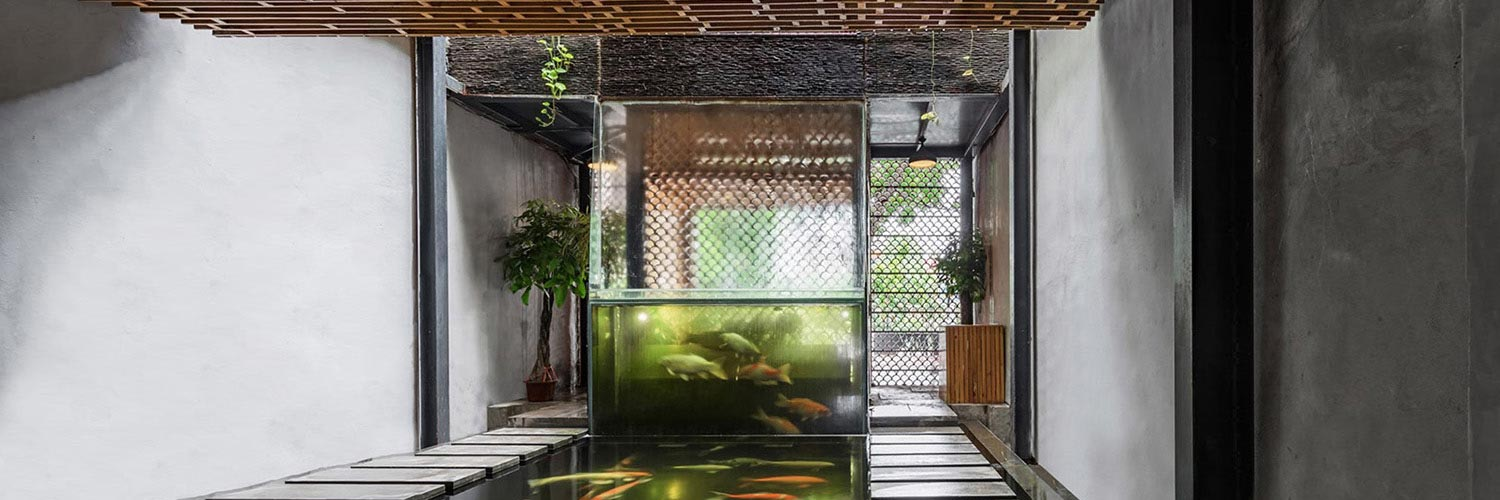 This beautiful Vietnamese restaurant works thanks to aquaponics