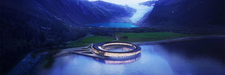Le premier hôtel à énergie positive conçu pour observer les aurores boréales