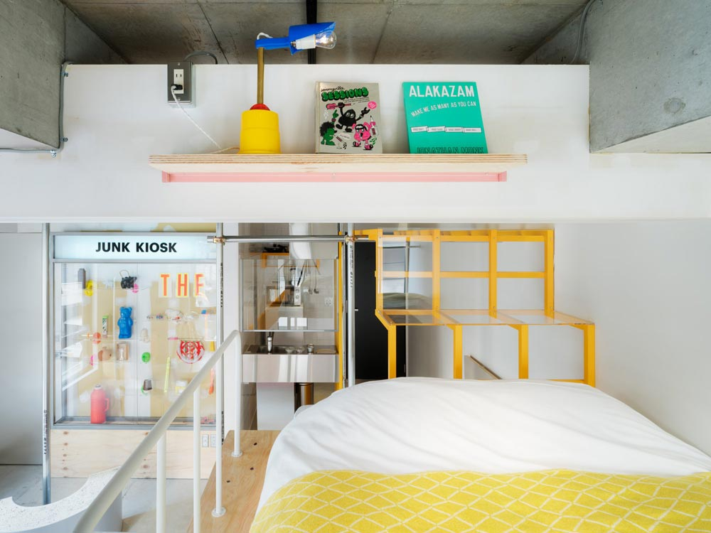 Bna Studio Akihabara Tokyo S Craziest Hotel Gives Carte Blanche To 5 Artists