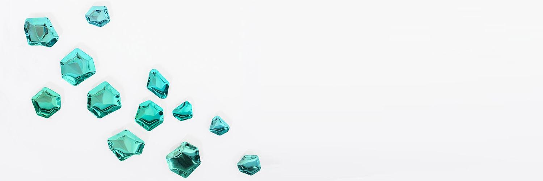 Coup de cœur design: se mirer dans des pierres précieuses