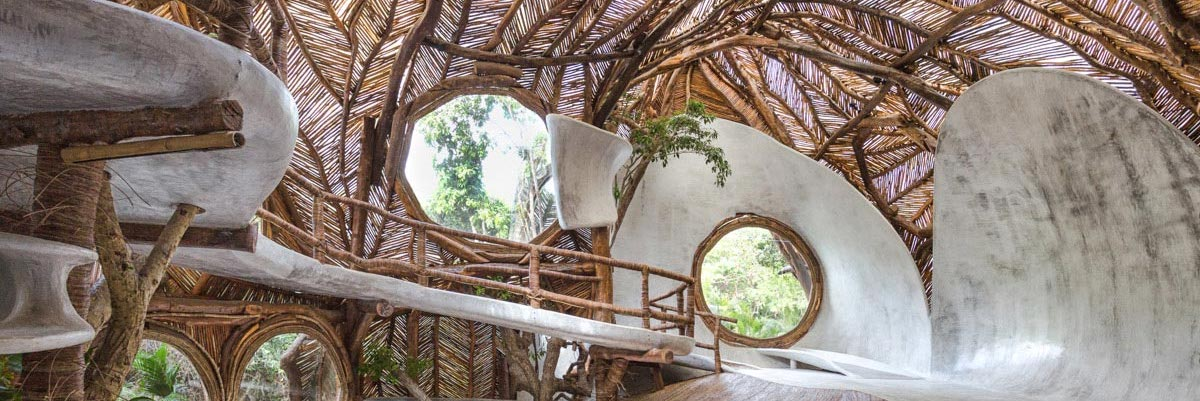 Au coeur de la jungle mexicaine se cache un hôtel dédié à l'art contemporain
