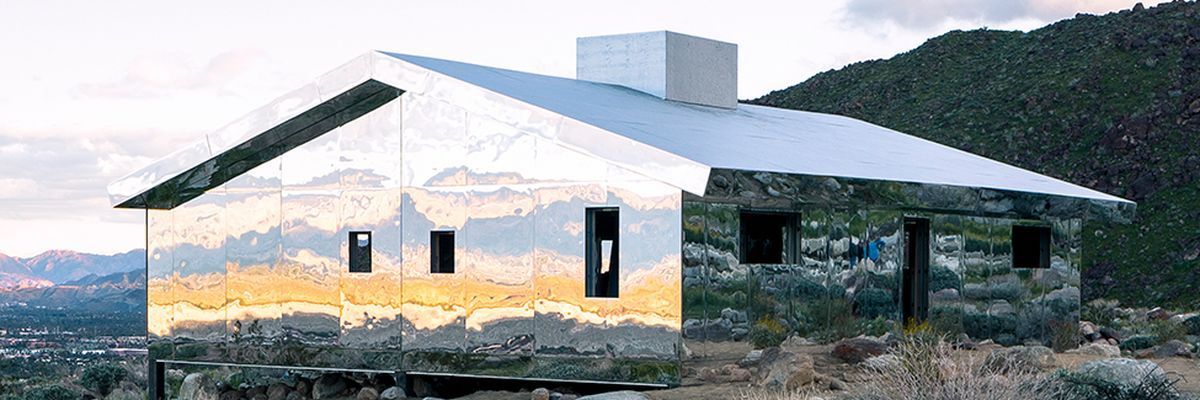 Discover a house made of mirrors