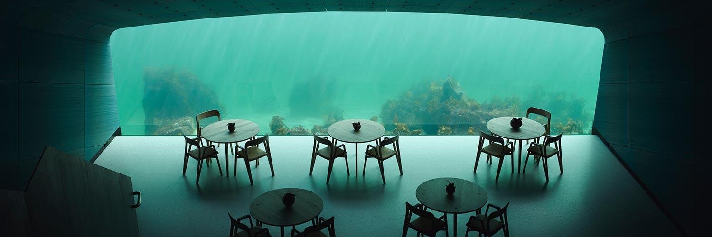 Under : le premier restaurant sous-marin d'Europe est devenu réalité